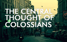 central thought of colossians